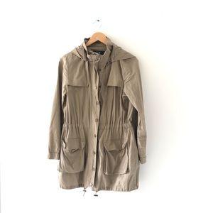 F21 Lightweight Trench Coat